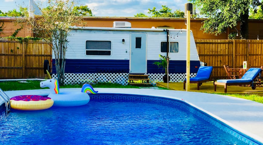 Remodeled RV in the Heart of Tampa