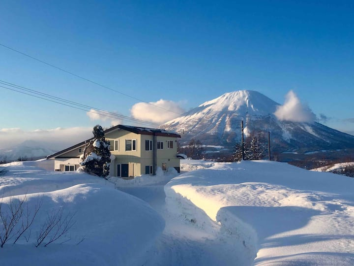 5br boutique Rusutsu Holiday Chalet 10 min to lift