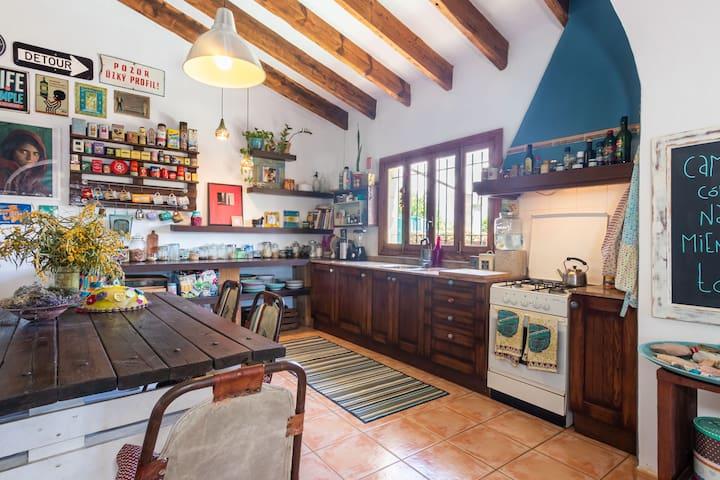 Cocina compartida / shared kitchen