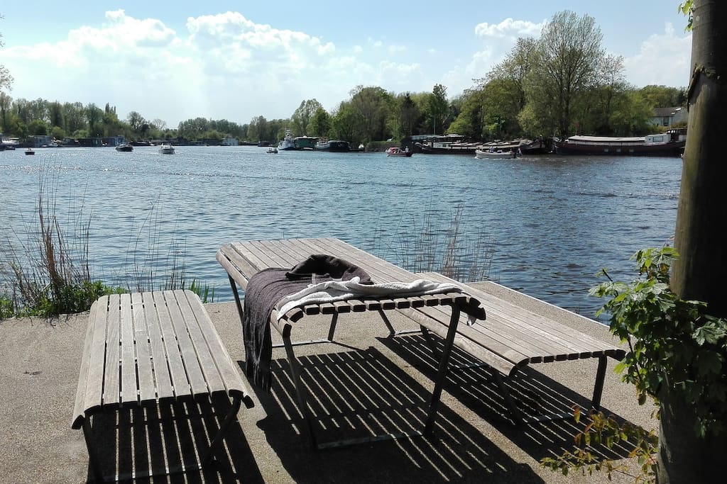 A great spot for breakfast or long summer evenings