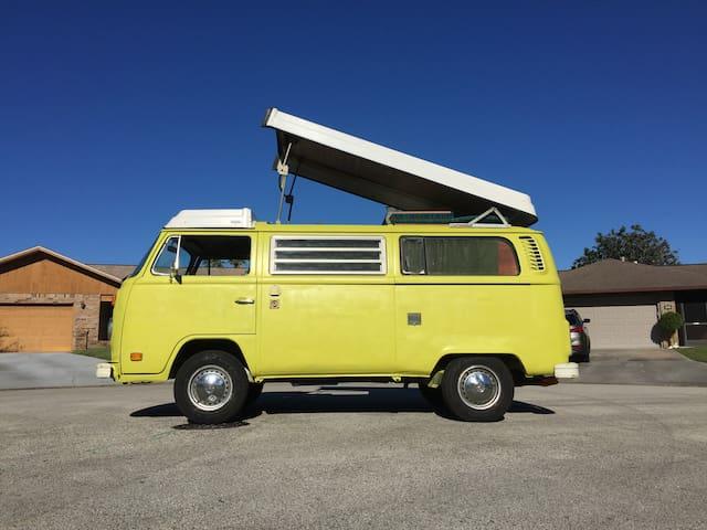 Frank, The VW Campmobile