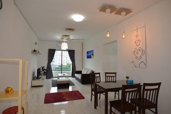 Victoria Heights, simple and convenient stay