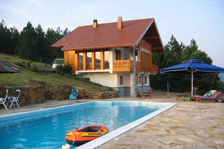 Luxury villa with huge pool - Divčibare - Hus