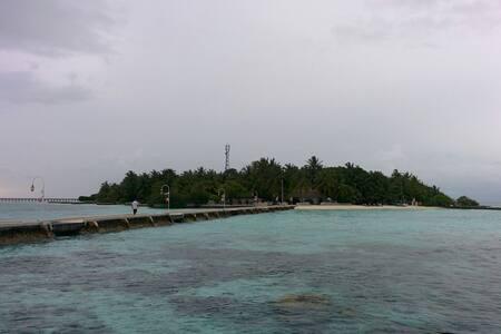 Single room in the capital of Maldi