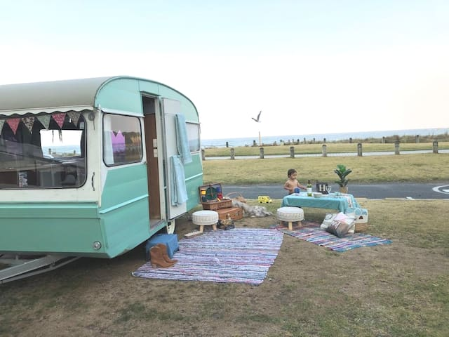 """LALA"" the Vintage Caravan at The Mount"