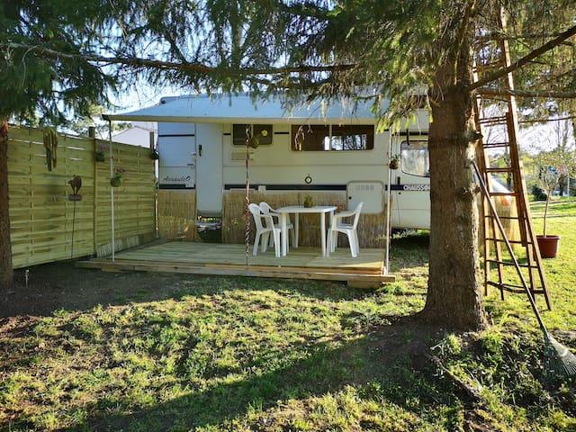 Camping car d'hôte, calme et détente assurés !