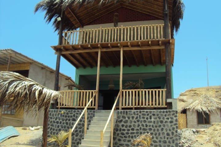 Casa de playa en tumbes (punta mero)