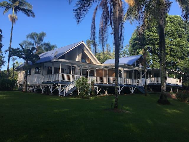 Hawaiian Paradise Cottage, 2-bedroom 1-bath 1-acre