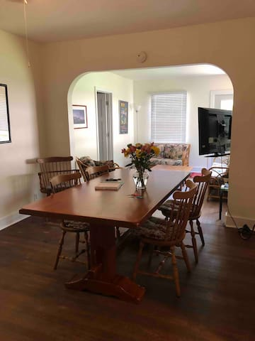 Family dining room.