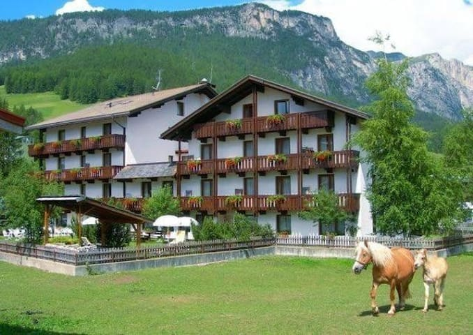 Appartamento in Hotel 4 Stelle La Villa  Dolomites