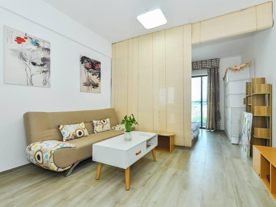 公寓套间2:中式居室客厅和卧室