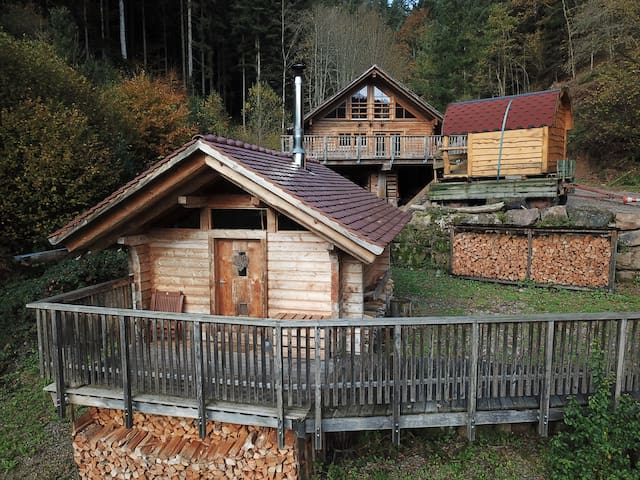 Schwarzwald Romantik Hütte für Zwei (Blockhaus)
