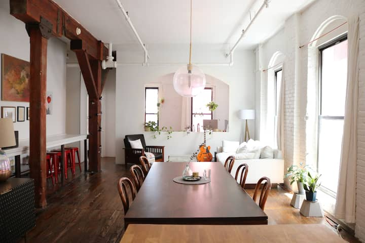 Stylish 2 Bedroom Brooklyn Loft w/ Private Terrace