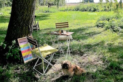 Schönes Haus mit Garten in Uckermark