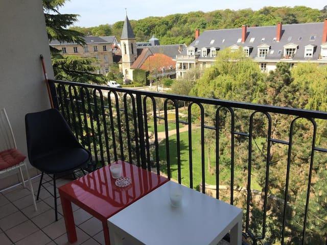 Appart 4Pers. Coeur de Ville Proche Paris - Le Plessis-Robinson - Wohnung