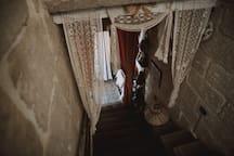 Deuxième montée d'escaliers
