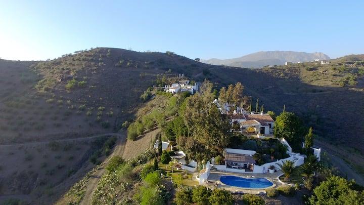 Private hilltop estate, 2 lux homes