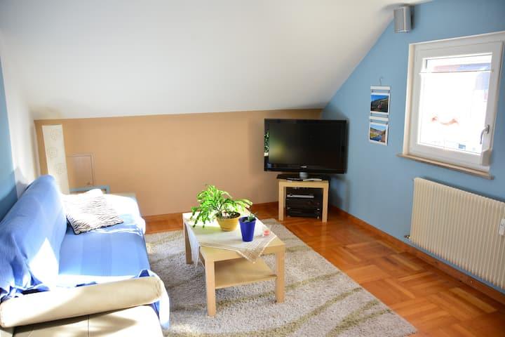 Kuscheliges DG-Apartment - Metzingen Nord