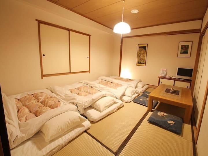 6mins->Ikebukuro Sta/Japanese-style room+Breakfast
