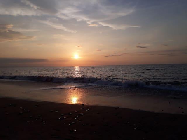 Un rincón de tranquilidad en la playa