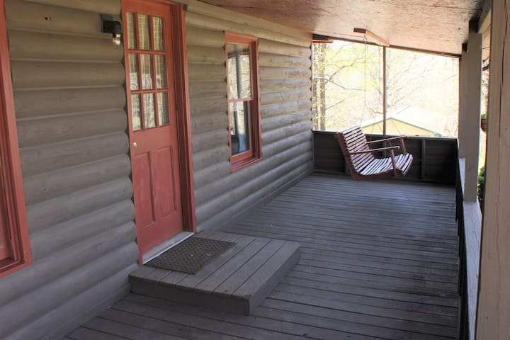 Front Porch Swing Overlooking a Lovely View of the Tennessee Foothills