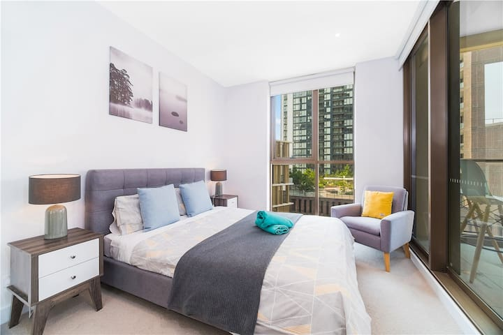 Sydney City CBD Darling Harbour Chinatown 2bedroom