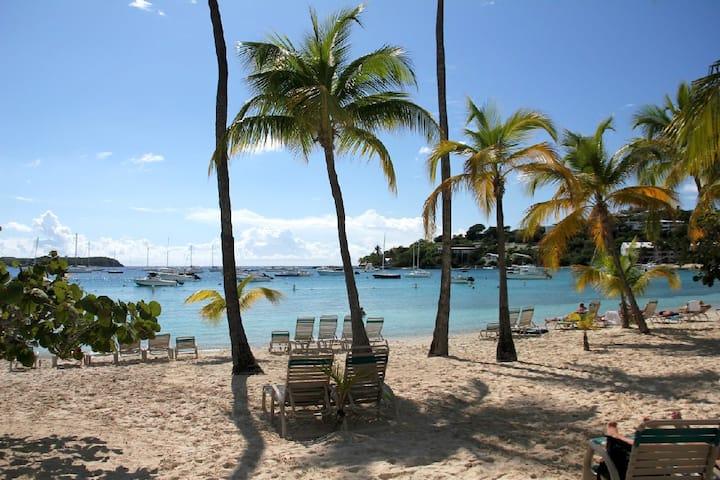 BEAUTIFUL Caribbean Beachfront Vacation Rental