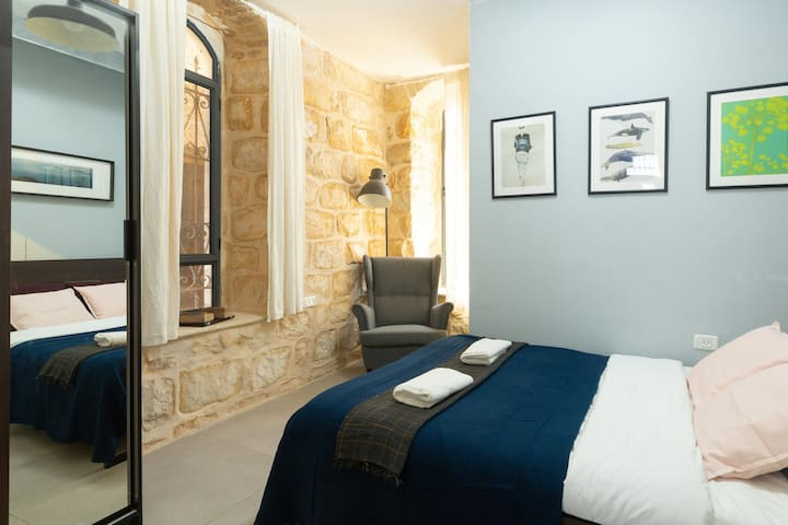 Take a look at these authentic stone walls