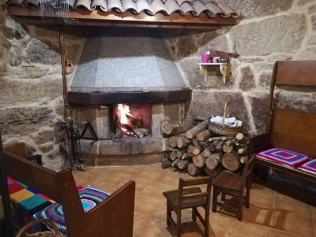 Casa aldea Galicia.... Relax, monte