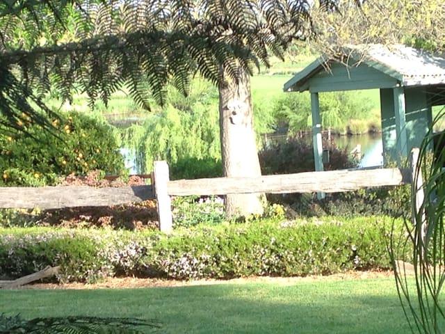 Pin Oak Park lake views