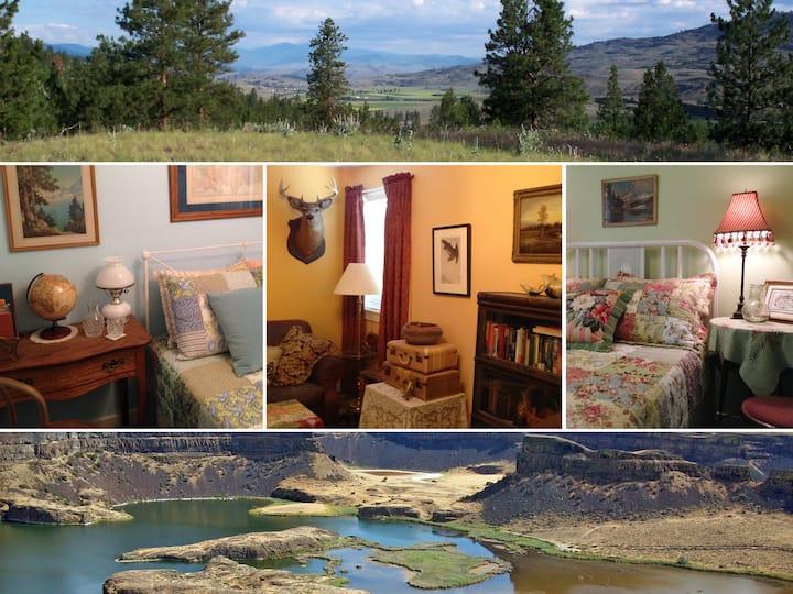 Kokanee Cottages - 2BR Cottonwood - Okanogan WA