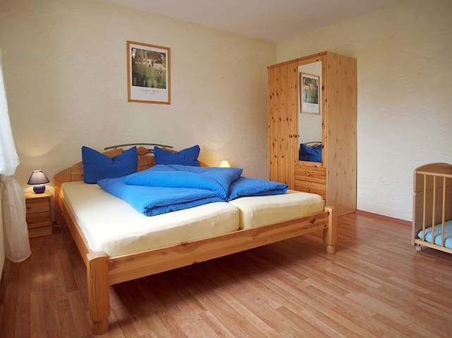 Feriendomizil Fliedereck, (Salem), Ferienwohnung Drewitzer See, 40qm, 1 Schlafzimmer, max. 4 Personen