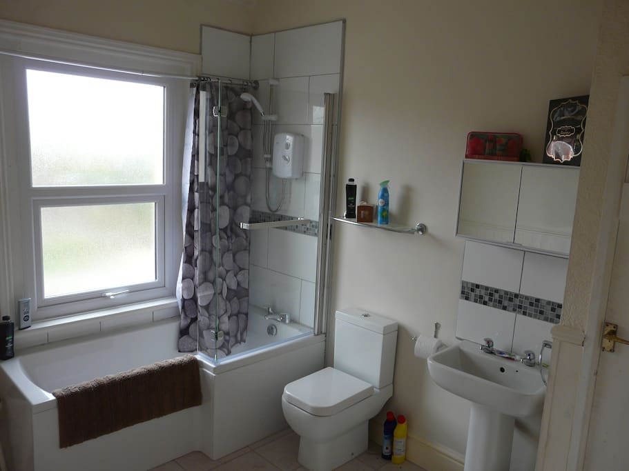 Nice new Bathroom with shower