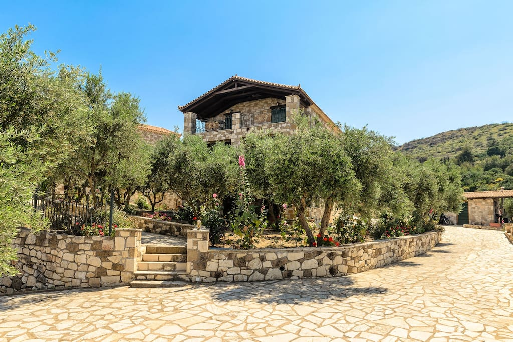 Surroundings wth Olive groves throughout the property