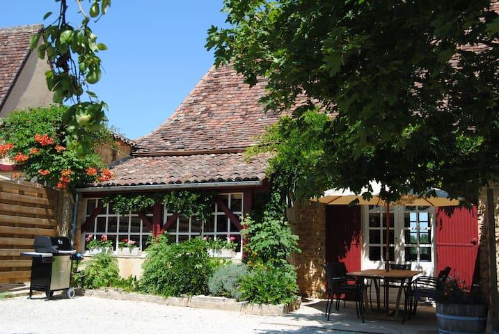 La maison du Bourrelier au Domaine des Fargues