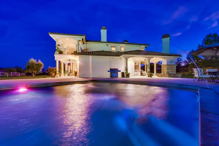 Elegant Villa with Private pool and tennis court. - Murrieta - Ev