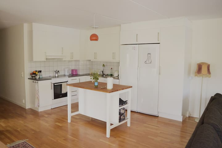 Wonderful spacious and sunny flat, family-friendly