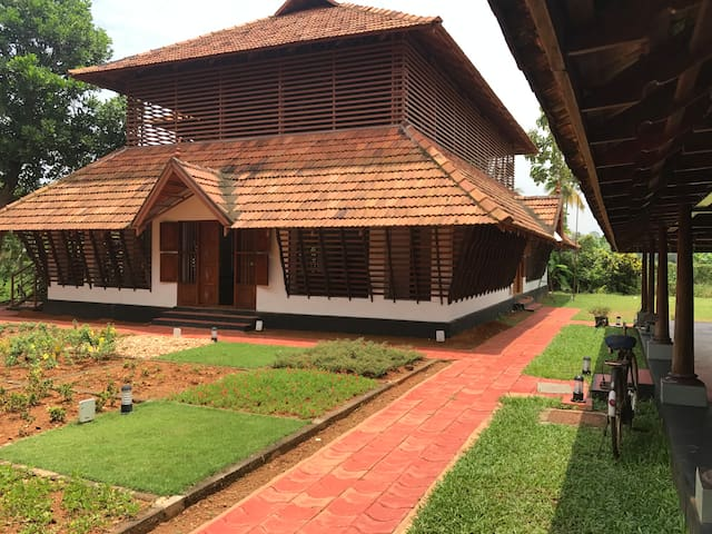 Traditional Kerala Heritage Property @ Kumarakom