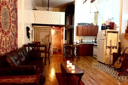 Small Br in Beautiful Bushwick Loft Near L - Brooklyn - Loft