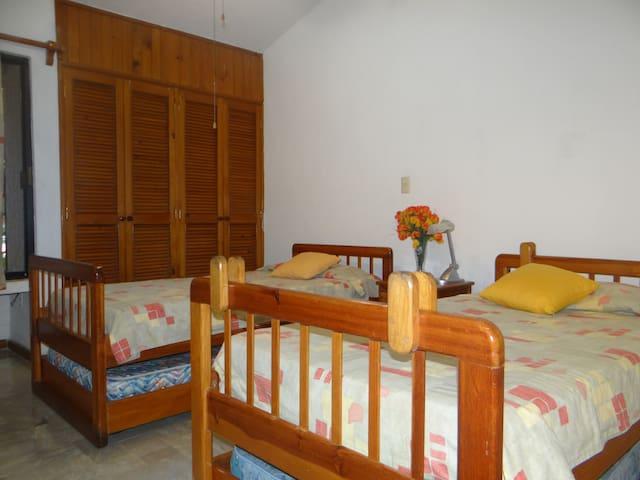Casa comparte 1 recamara 2 camas individuales - Puerto Aventuras - Talo