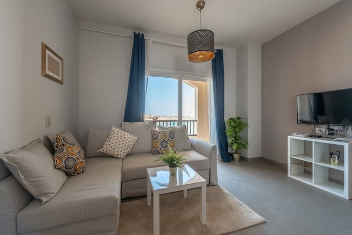 Stunning 1BR Apt in WaterSide El Gouna Lagoon View