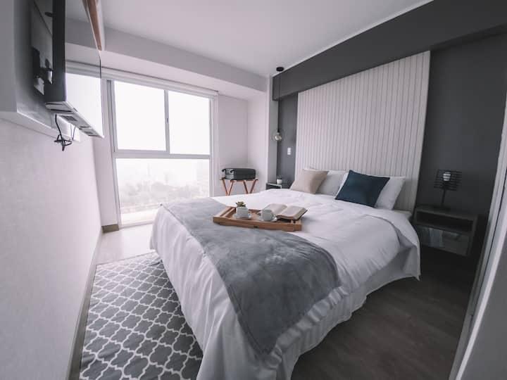 Trendy&Acogedor Apartamento de estreno Barranco