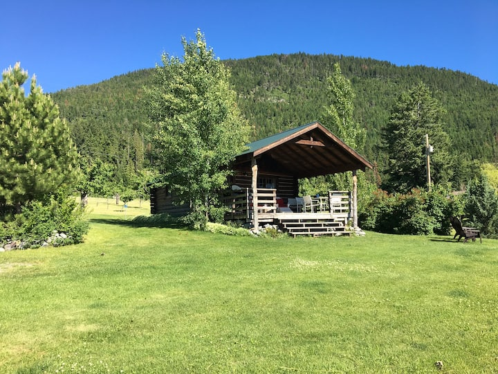 Authentic Montana Log Cabin
