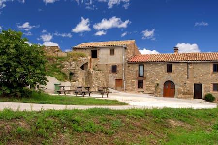 Masia Montbrú, relax y vistas impresionantes - Moià - Villa