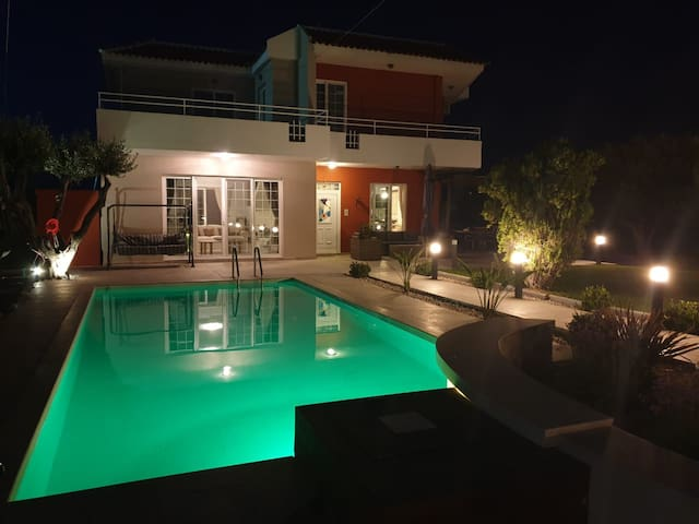 Great pool villa, stylish and homely, west Rhodes.