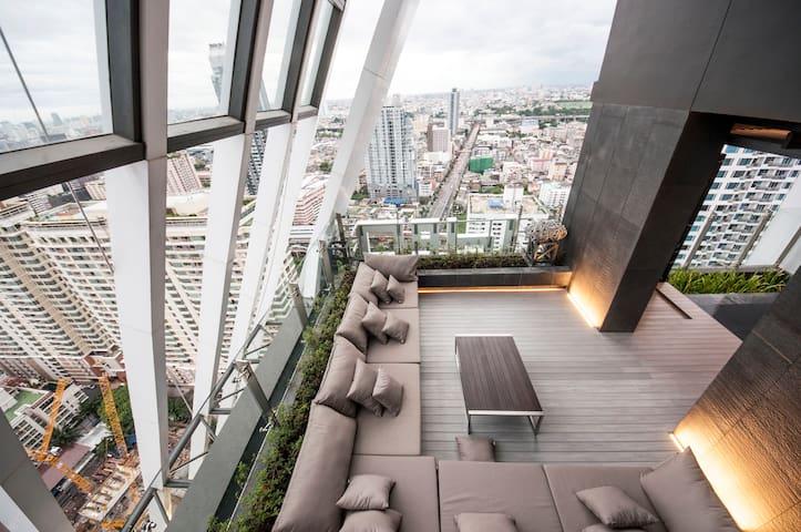 1BR 100M BTS PLATINUM MALL MBK SIAM CTRLWORLD ID1 - Bangkok - Condominium