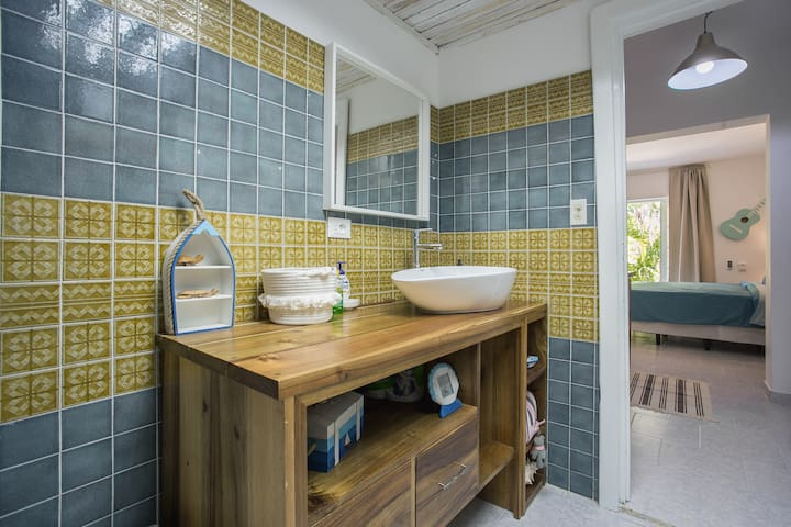 Salle de bain au thème marin