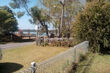 Great location, view from from yard