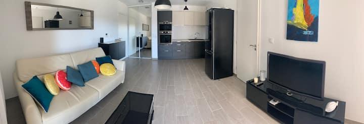 Appartement chic à Nouvelle Terre