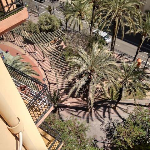 vistas balcón habitación 4